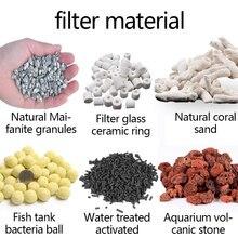Aquarium Filter Media Activated Carbon Ceramic Rings Bio Ball Clean Water 1 Pcs 100g