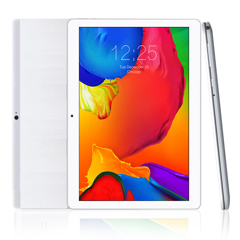 Free Shipping 10.1 Inch Official 3G Phone Call Google Android Quad Core IPS Pc Tablet WiFi 2GB+16GB/32GB Metal Tablet Pc Silver