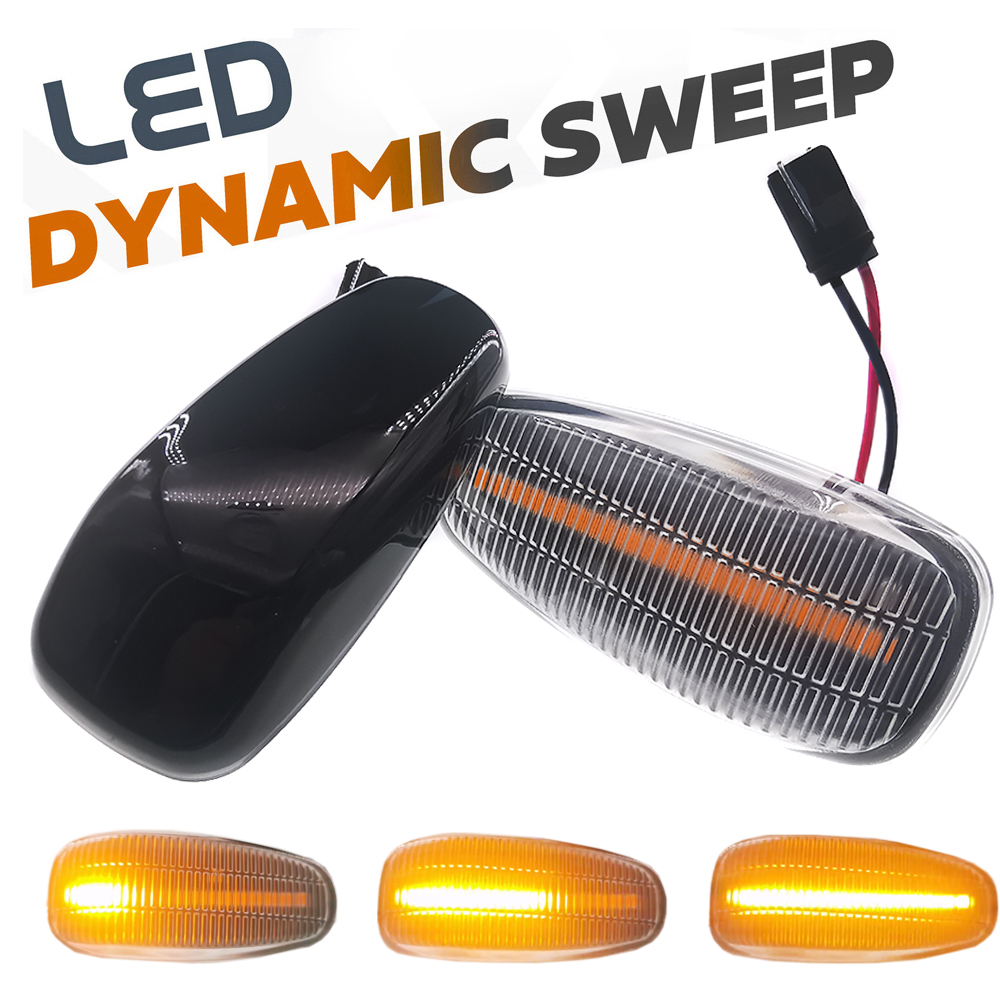 LED Side Marker lamp Turn signal light Repeater lights For <font><b>Mercedes</b></font> <font><b>Benz</b></font> W208 W210 <font><b>Vito</b></font> <font><b>W638</b></font> Vaneo W414 Vario W670 Sprinter W901 image