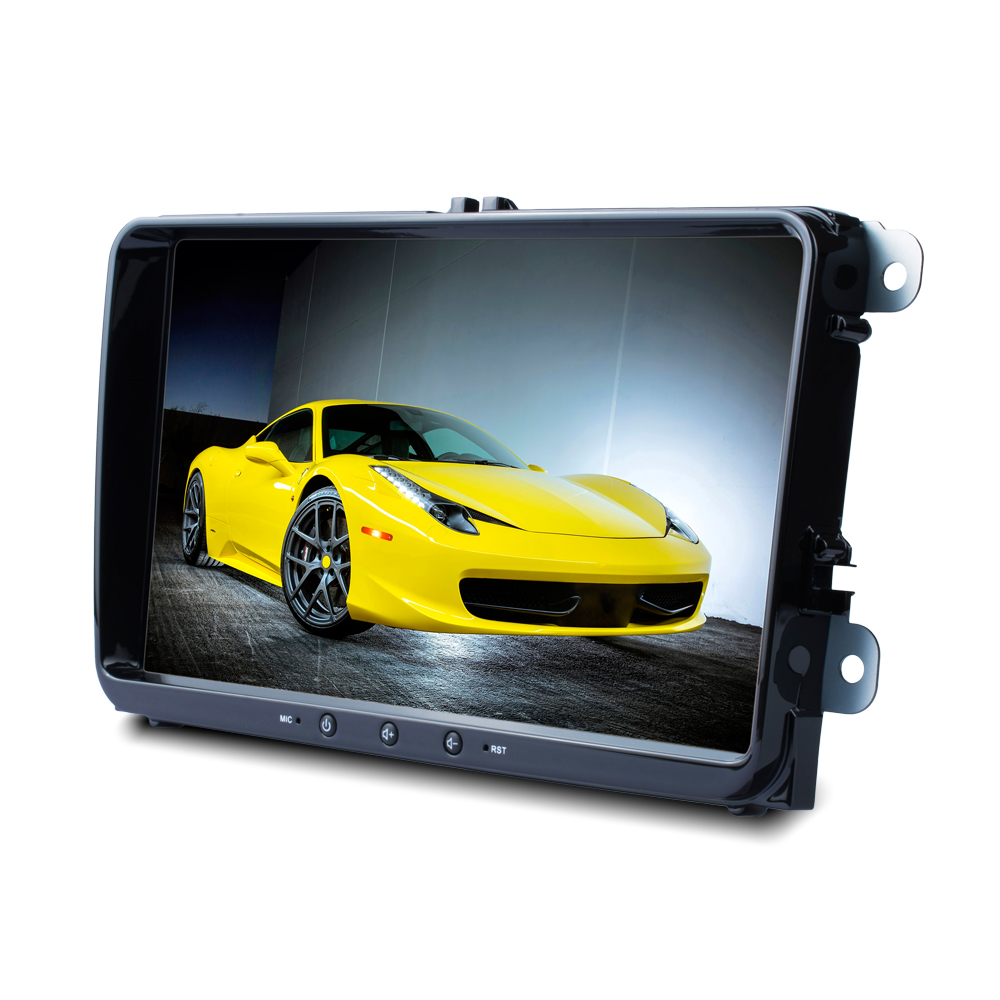2 Din 9'' Car MP5 Multimedia Video Player With Android Smart Mirror Link Audio For Volkswagen SEAT Altea 05/2004 Toledo 12/2004