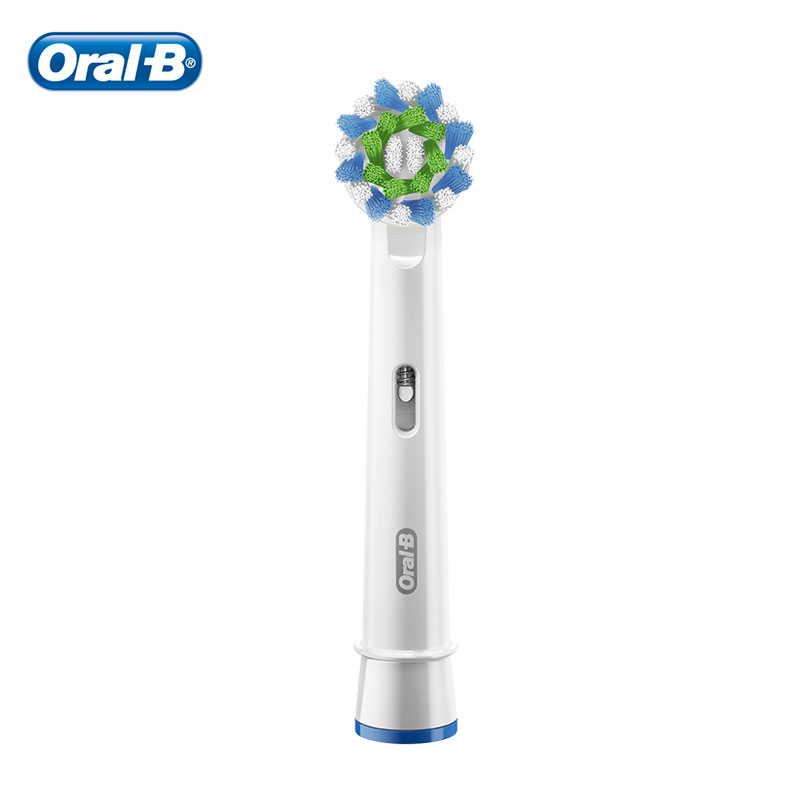 Oral B Brush Head CrossAction with Bristle Protection Technology Replacement Brush Heads Oral B EB50 Tooth Brush Refills Nozzles image