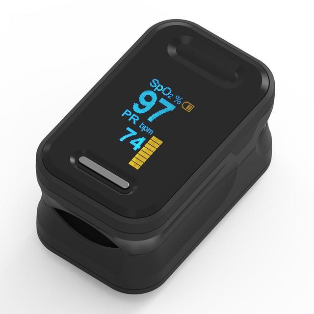 Yonker Medical Pulse Oximeter Portable Finger Pulse Oximeter LED Fingertip Oximeter Blood Oxygen Saturation Monitor 2