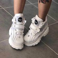 Dad Shoes Sneakers Platform Stylesowner Genuine-Leather Fashion Women Ladies Brand Leisure