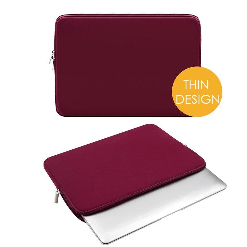 Yicana 11 12 13 14 15 15,6 дюймов чехол для ноутбука Macbook Air Pro Ультра-книга ноутбук мягкая сумка на молнии