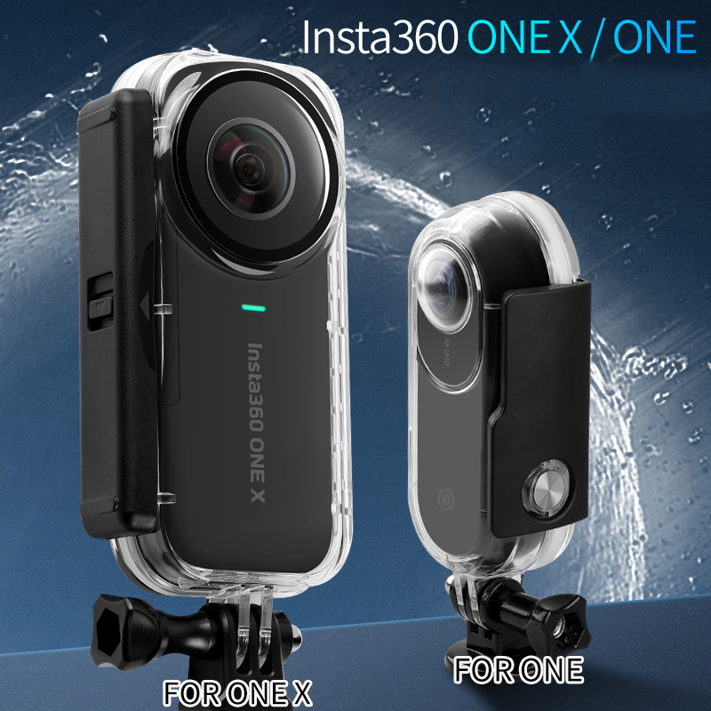 Waterproof Case Diving Protective Shell Box For Insta360 One Panoramic H