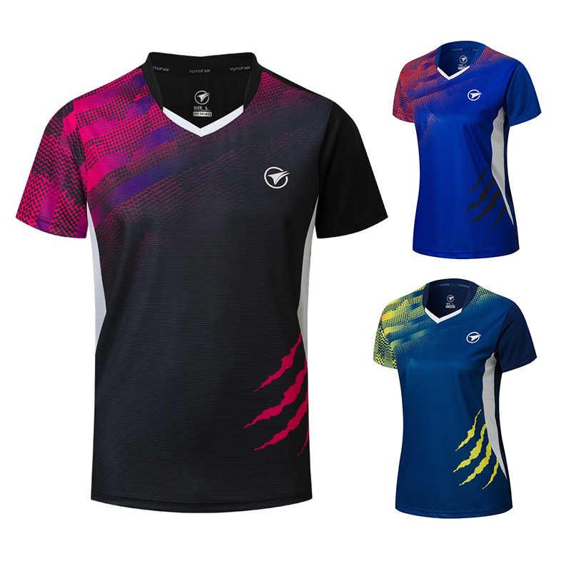 New Badminton shirts Men/Women , sport shirt Tennis shirts , table tennis t-shirt , Quick dry sports training t-shirts A121
