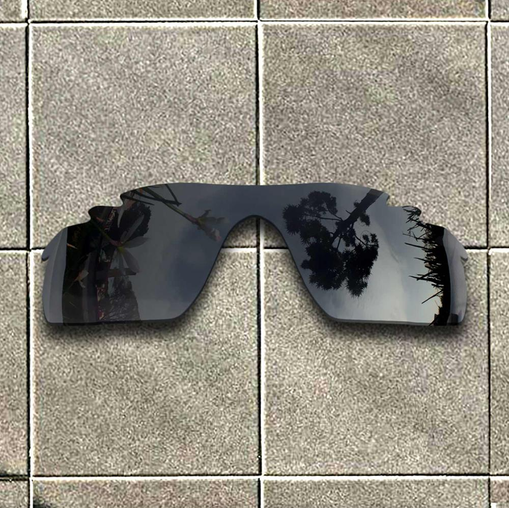 Stealth Black Polarized Sunglasses Replacement Lens For-Oakley RadarLock Path Vented Frame 100% UV Protection Good Fitness