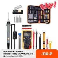 Kit de temperatura ajustable de soldadura eléctrica de hierro, estación de reparación de soldadura, lápiz de calor, herramientas de reparación, 220V, 110V, 60W