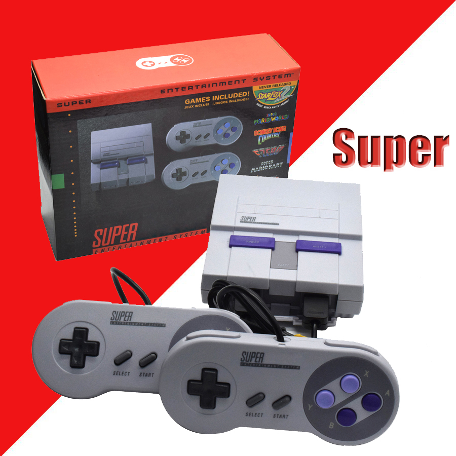 Super HD HDMI Output SNES Retro Classic Handheld Video Game Player TV Mini Game Console Built