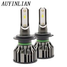 AUYINLIAN Super Bright Car Led H7 canbus Mini H4 Bulb H8 H11 9005 H1 H3 9012 HB4 Headlights 12V Automobiles Fog Lamp