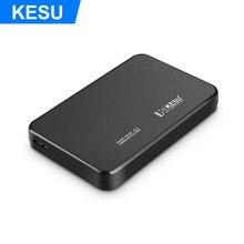 KESU-boîtier de boîtier pour disque dur SATA USB 2.5, 3.0 pouces, pour Samsung Seagate, prise en charge UASP SATA III