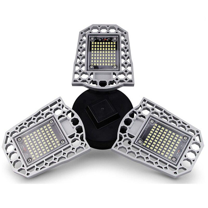סופר בהיר LED מוסך אור תעשייתי מנורת E27/E26 עמיד למים IP68 מוסך מנורת AC85-265V 60W 80W 100W סדנת אור