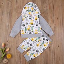 Pudcoco/одежда для малышей Осенняя коллекция 2020 года новейшие