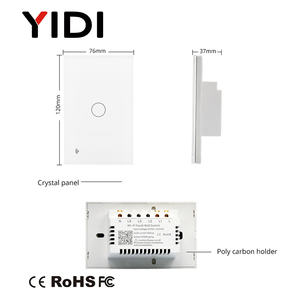 Image 5 - UNS WIFI Smart Touch Schalter 1 2 3 4 Gang Wand Licht Drahtlose Fernbedienung Schalter 220V 1 2 3 weg Tuya Smart Home Alexa Google