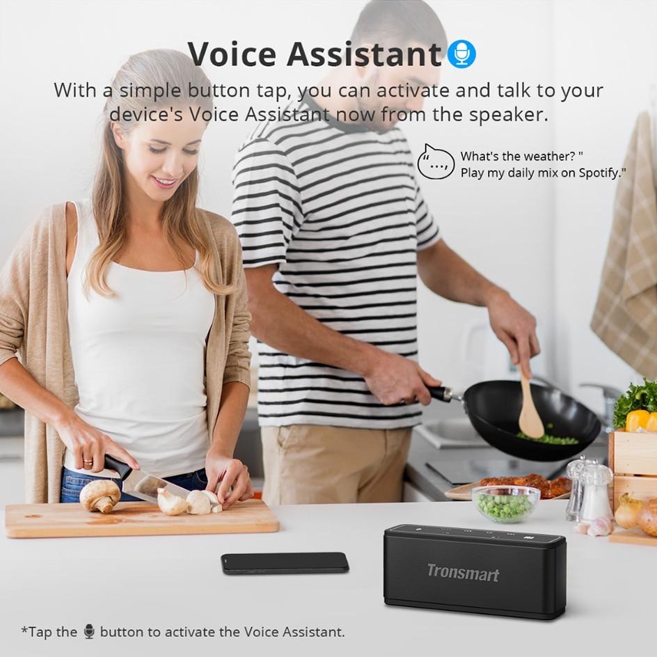 Tronsmart Mega TWS Bluetooth 5.0 Speaker 40W Portable Speaker Colums Touch Control Wireless Soundbar Voice Assistant NFC MicroSD (19)