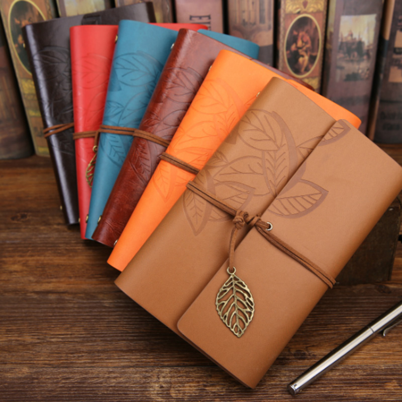 A6 B6 A5 Kawaii Japanese And Korean Creative Notebook Retro Loose Leaf Leaves Notepad Travel Brochure School Supplies