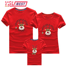 Family Look for Dad Mom and ME 2019 Father Mother Daughter Son Christmas New Year Cotton Sweater Outfits Family Matching Clothes(China)