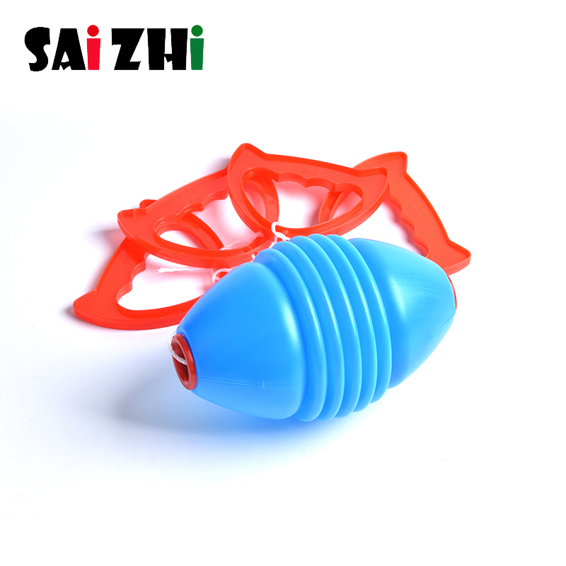 Saizhi Kids Toys Shuttle Pull Ball Children's Indoor Outdoor Sports Toy Pull Ball Gym Class Player Double Combination Toy Gift