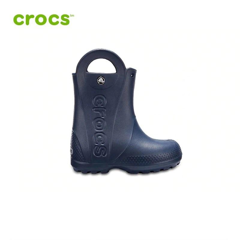 CROCS Handle It Rain Boot Kids KIDS| |   | АлиЭкспресс