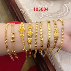 HX 24K Pure Gold Bracelet Real 999 Solid Gold Bangle Upscale Beautiful Romantic Trendy Classic Jewelry Hot Sell New 2020