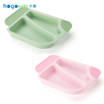 Hogokids Dishes PP Children's Dish Tableware for Feeding Set of Children's Dishes Baby Feeding Bowl Dinnerware Set Gift Box