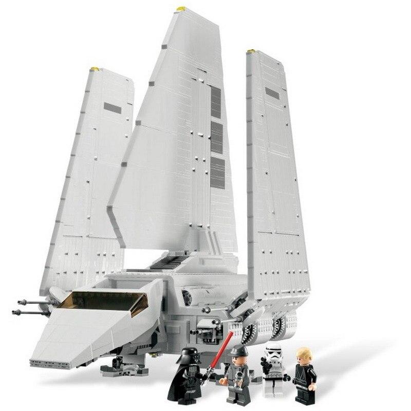 In Stock 35005 Lepinblock Star Wars The Imperial Shuttle Model Building Blocks Enlighten Figure Toys For Children Christmas Gift