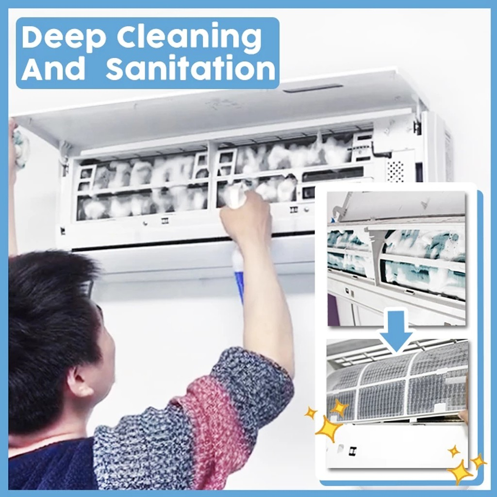 Air Conditioner Foaming Cleaner Dust Dirt Mold Micro-organisms Spray Deep Cleaning Sanitizin Fragrance Scented Cleaner #20