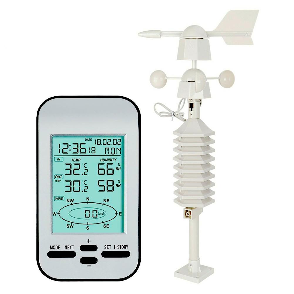 433MHz Wireless Weather Station With Forecast Temperature Digital Thermometer BC