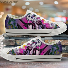 ELVISWORDS The Nightmare Before Christmas Sneakers Casual Wo