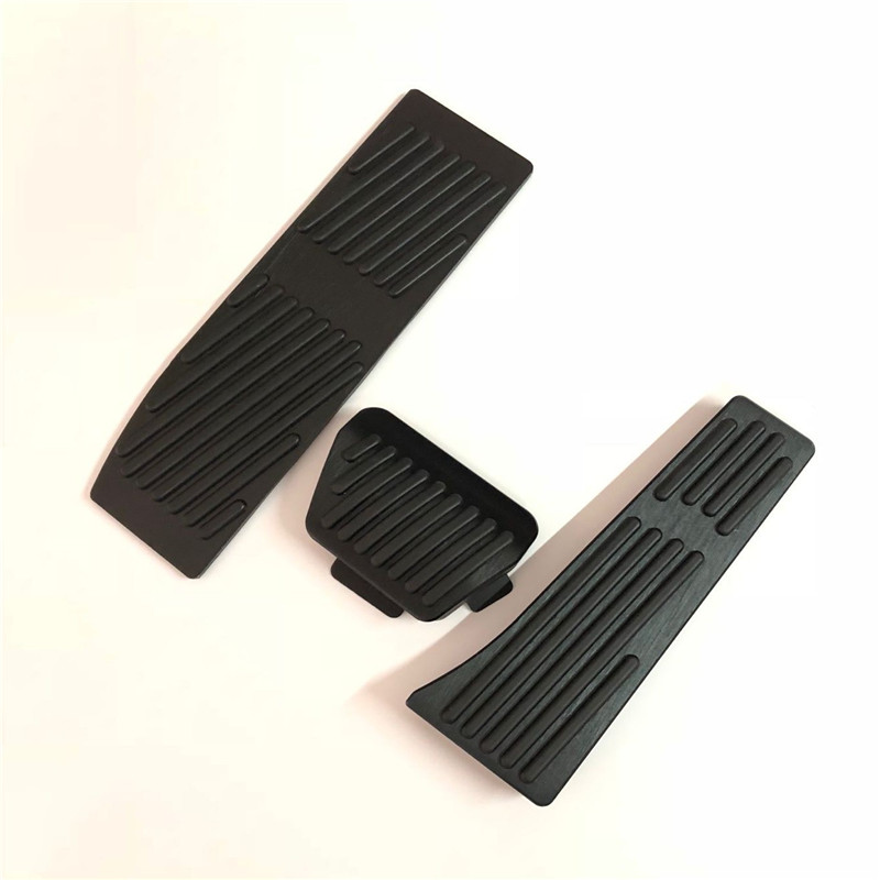 For <font><b>BMW</b></font> 3 5 series <font><b>E30</b></font> E32 E34 E36 E38 E39 E46 E87 E90 E91 X5 X3 Z3 Foot Rest Fuel Brake Gas Pedal Pads Covers Car <font><b>Accessories</b></font> image