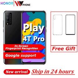 Перейти на Алиэкспресс и купить honor play 4t pro smart phone kirin 810 6.3 inch oled in-screen fingerprint recognition 48mp 4000mah superchager gpu turbo phone