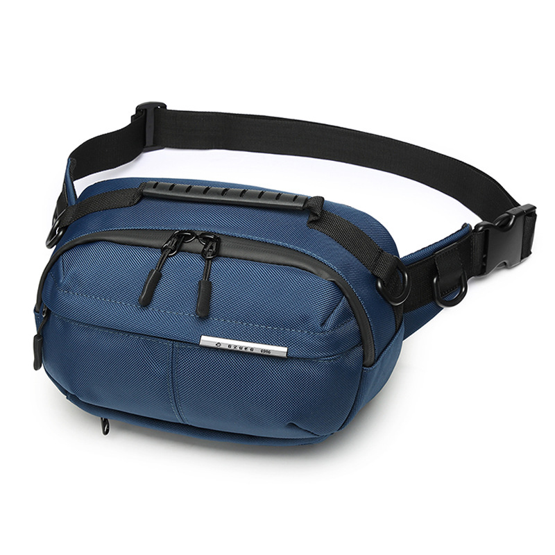 New men's multifunctional chest bag outdoor large-capacity men's chest bag waist bag waterproof shoulder messenger bag