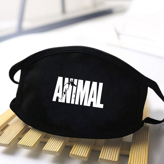 Fashion Pocket cat Mouth Face Mask Cartoon Animal Cute masque Washable Soft Face Masks Men Black Kpop Women masque de protection 2