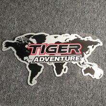 Naklejki kalkomania aluminiowe sakwy bagażowe boczne pudełko na Triumph TIGER 800 1200 1050 2020 XR RANGE Explorer Adventure Sticker