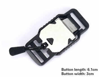 Backpack Magnetic Buckle Schoolbag Magnetic Buckle 20 Mm Functional Magnetic Buckle FK Same Type of Luggage Hardware Accessories