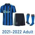 Новинка 21 22 ajaxes вдали синий комплекты комплект футболки 2021 2022 спортивный костюм ajaxed рубашка Амстердам тренировок;