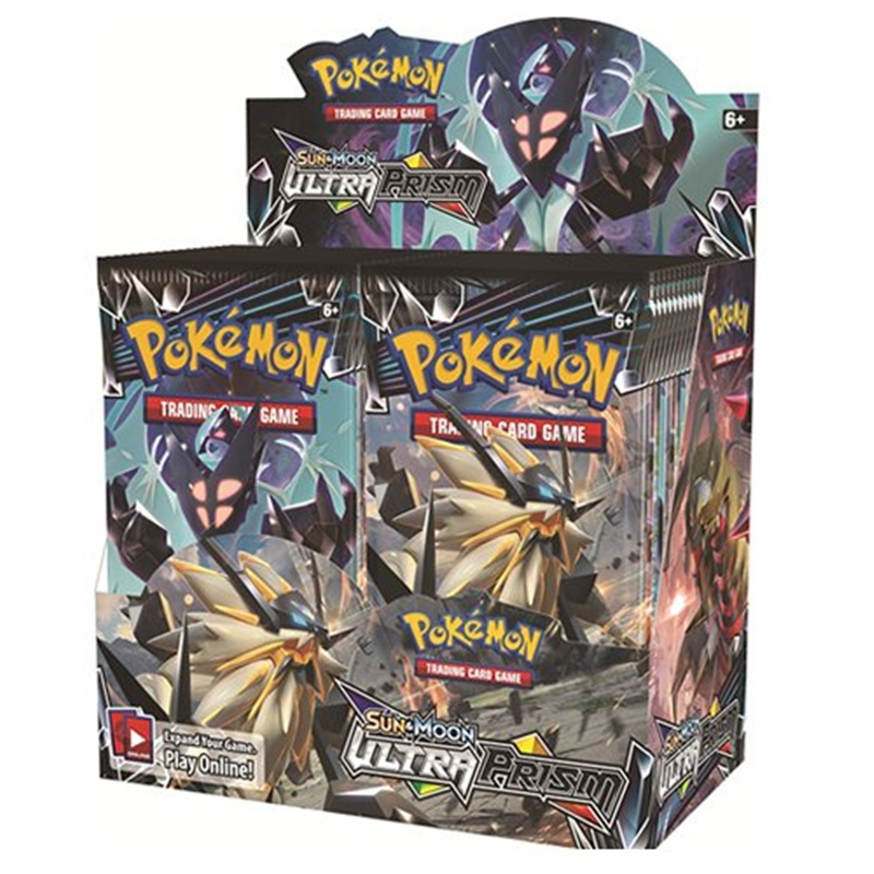 324Pcs/box Pokemon TCG Sun & Moon Ultra Prism 36 Pack Booster Box Pokemon Cards Collecting Toys