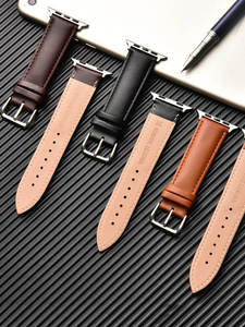 Loop-Strap Watch-Band Bracelet Brown 5-44mm 42mm 38mm for Apple 6-se/5/4/.. 40mm Men