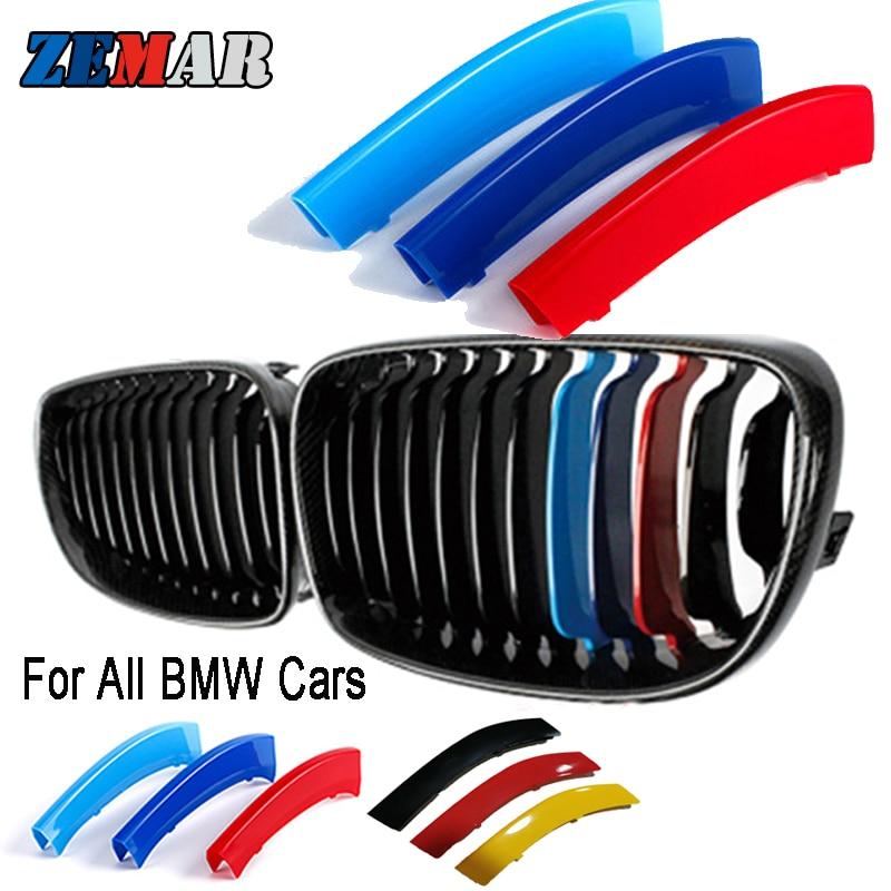 Calandre avant, pour BMW E46 E90 E60 E39 E36 F30 F10 F20 X5 E70 E53 G30 E91 E92 E93 E87 X3 E83 F25 X6 E71 F31 F22 F34 X1