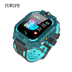 """Image 2 - Tracker Children Smart Watches Waterproof LBS Positioning 1.44"""" Touch Screen Camera Fashlight IOS Android Kids Smart Clock Q19"""