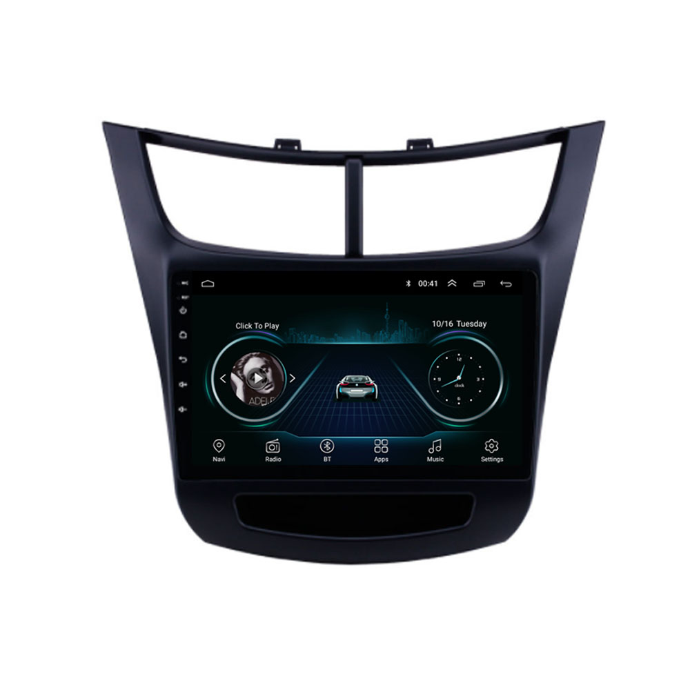 4G LTE Android 8.1 For Chevrolet Sail  2015 2016 2017 2018 2019  Multimedia Stereo Car DVD Player Navigation GPS Radio