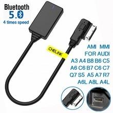 AMI MMI MDI беспроводной Aux bluetooth Кабель-адаптер аудио Музыка Авто bluetooth для Audi A3 A4 B8 B6 A5 A7 R7 S5 Q7 A6L A8L A4L