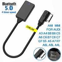 AMI MMI MDI inalámbrico Aux Cable adaptador bluetooth de Audio de música de bluetooth para Audi A3 A4 B8 B6 A5 A7 R7 S5 Q7 A6L A8L A4L