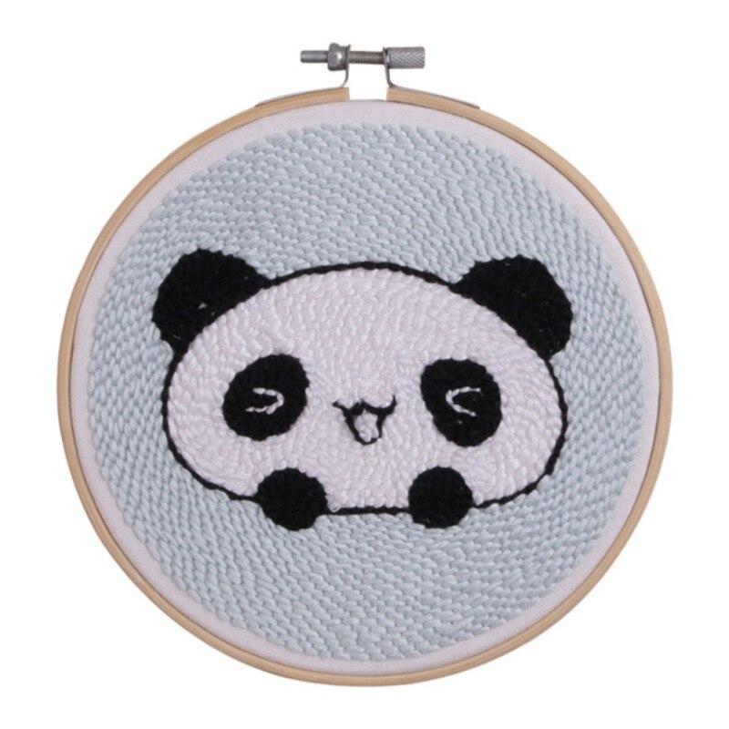 15*15 см дети мультфильм животных вышивка DIY живопись полный рукоделие вышивки крестом наборы вышивки
