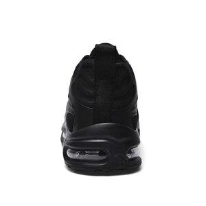 Image 4 - 2020 אופנה שחור להחליק על לנשימה באיכות גבוהה גברים סניקרס נוח מקרית להחליק על נעלי זכר מגפיים אדם רץ