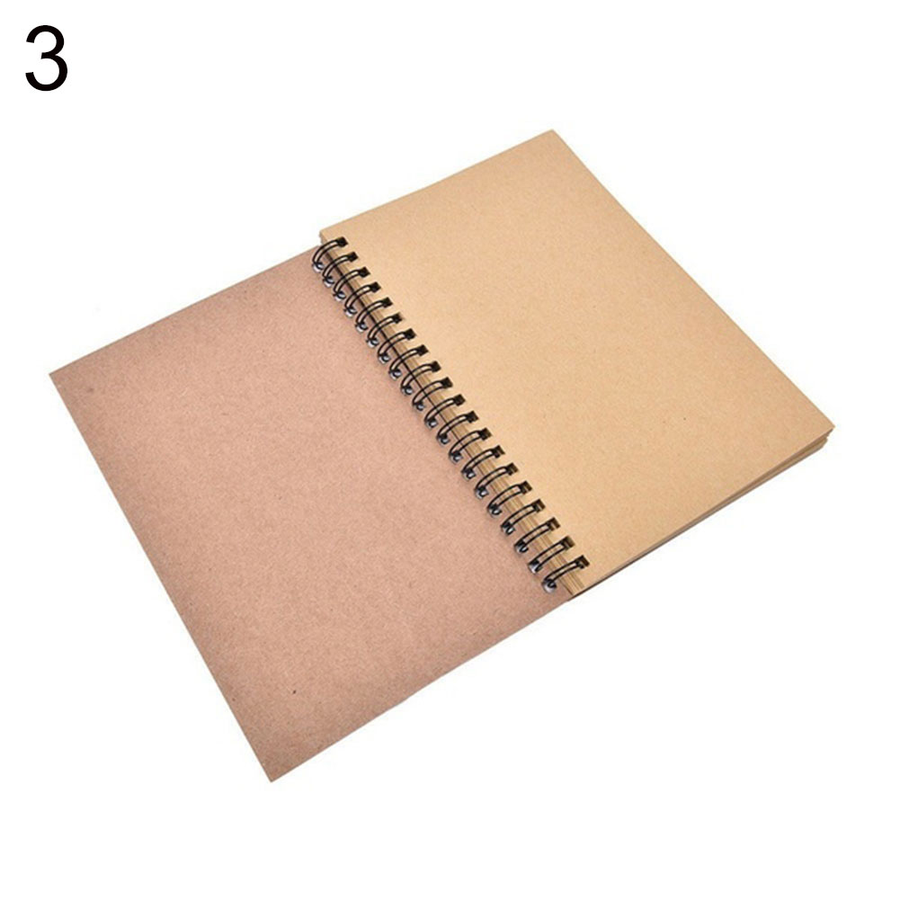 Sketchbook Diary Drawing Painting Graffiti Small 14*21cm Soft Cover Blank Paper Notebook Memo Pad School Office Pads Stationery
