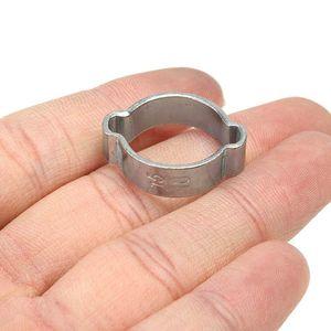 Image 5 - 140 pièces Double oreille O Clips pinces acier zingué assortiment pour tuyau hydraulique carburant