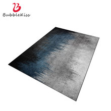 Bubble Kiss Nordic Style Carpets For Living Room Blue Abstract Gradient Bedroom Customize Area Rugs Home Decor Non-Slip Door Mat