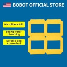 BOBOT 4 шт. квадратный микроволоконный чистящий коврик Электрический Очиститель окна инструмент Окно Стекло Очиститель окна пылесос