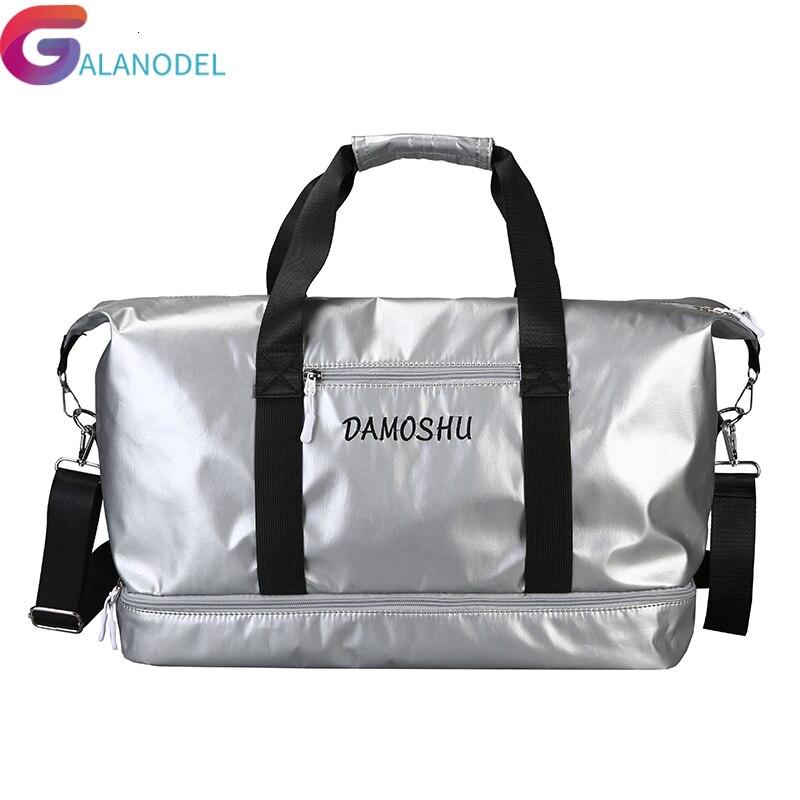 PU Travel Bag Women Large Capacity Men Hand Luggage Big Travel Duffle Bags Women Crossbody Bags Couple Shoulder Weekend Bags New